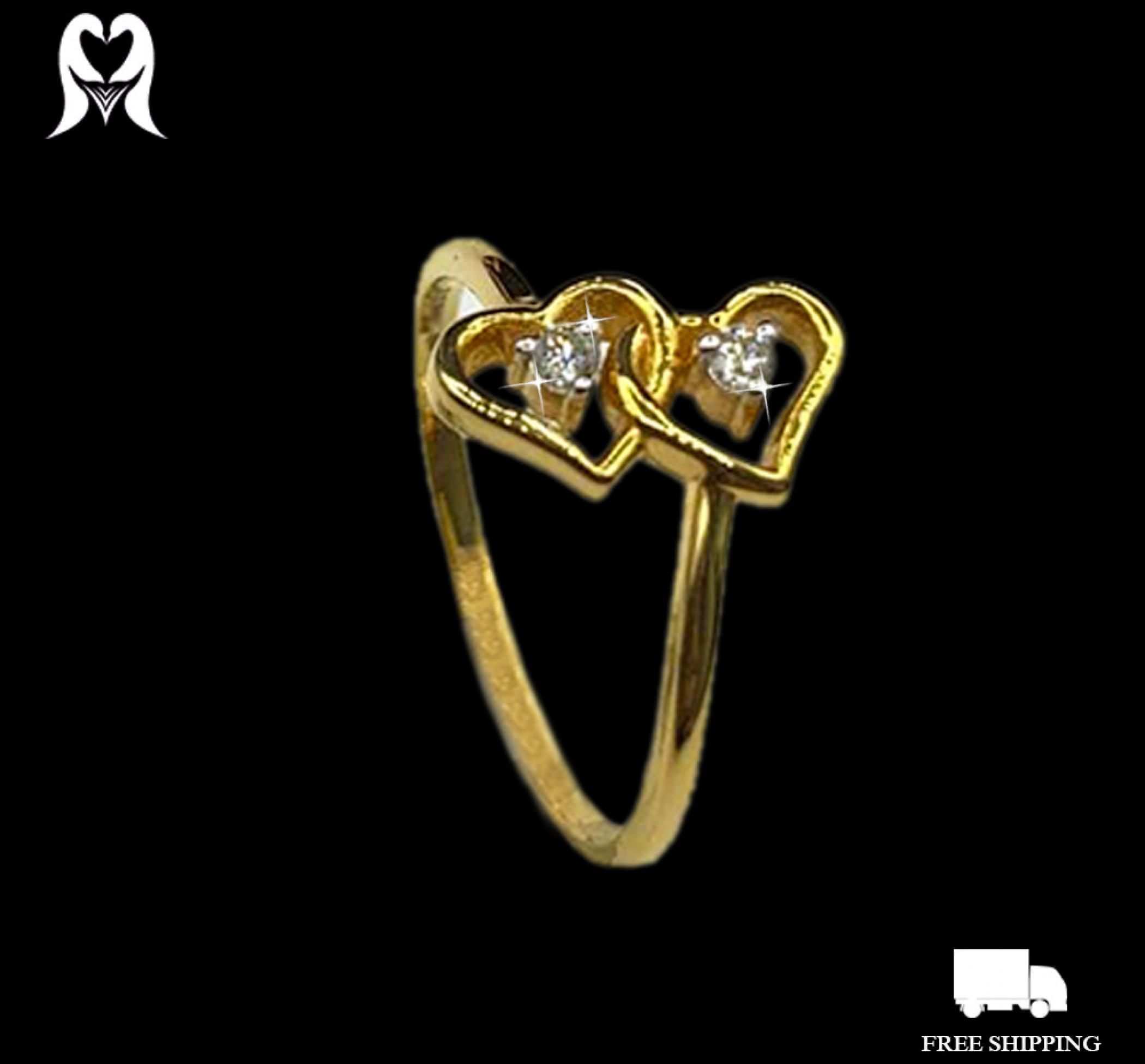 Diamond Ring 0.05 CTS 2 PCS J12158 [2.04g - 2030889]