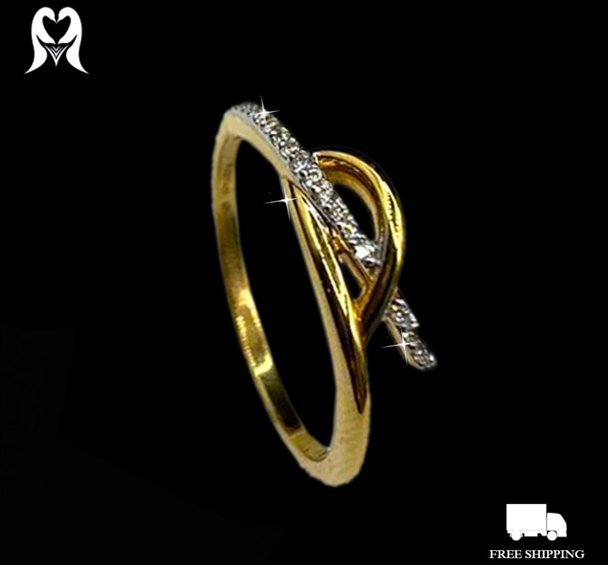 Diamond Ring 0.1 CTS 19 PCS J12174 [Wt:2.26 - 2030903]