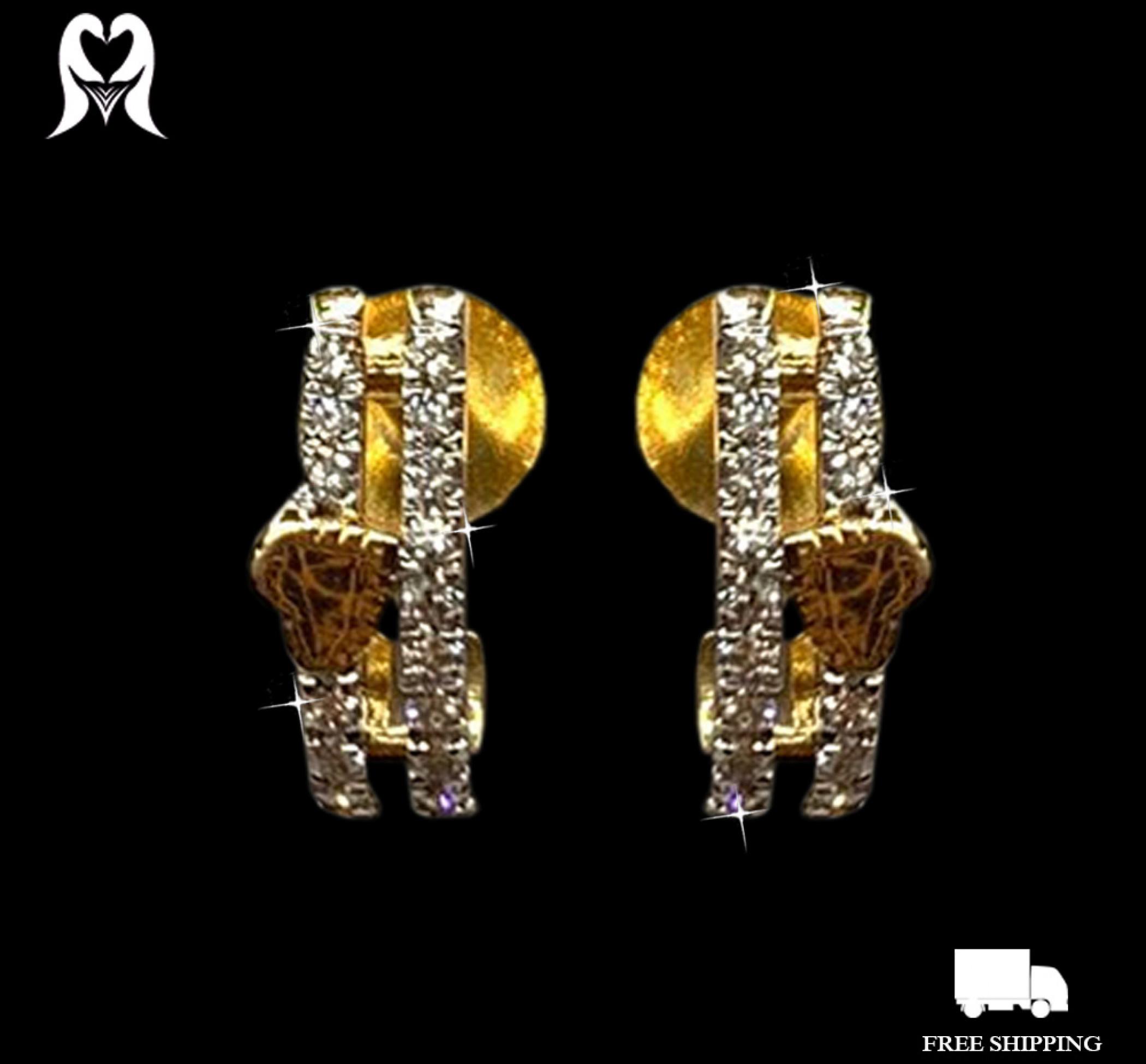 Diamond Earring 0.2 CTS 34 PCS J12130 [1.87g - 2030958]