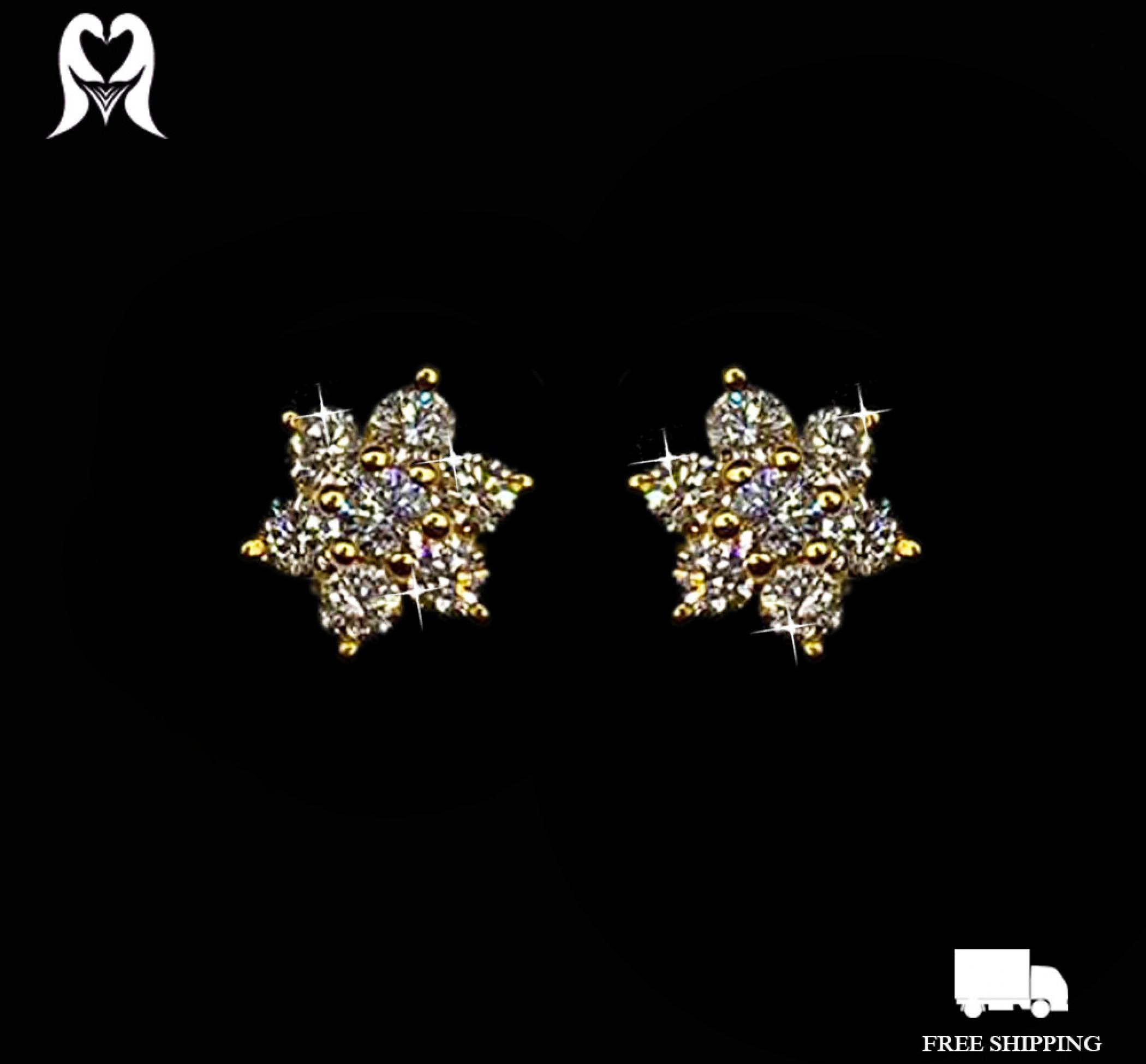 Diamond Earring 22K, 0.42CT 14PCS IGRL-JW000250MY [Wt:1.75 - 2031214]
