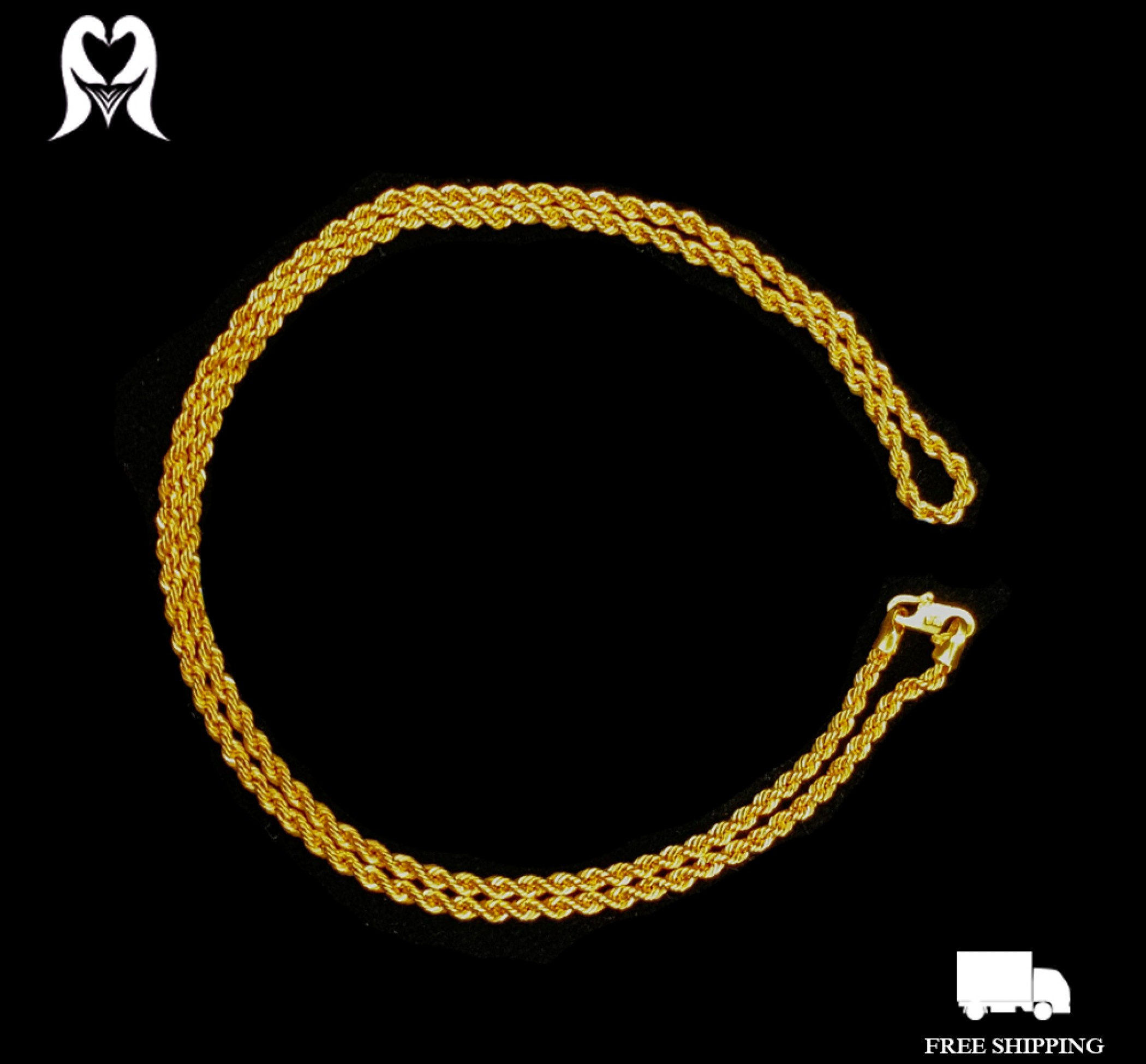 HOLLOW ROPE CHAIN [5.57g - 560258]