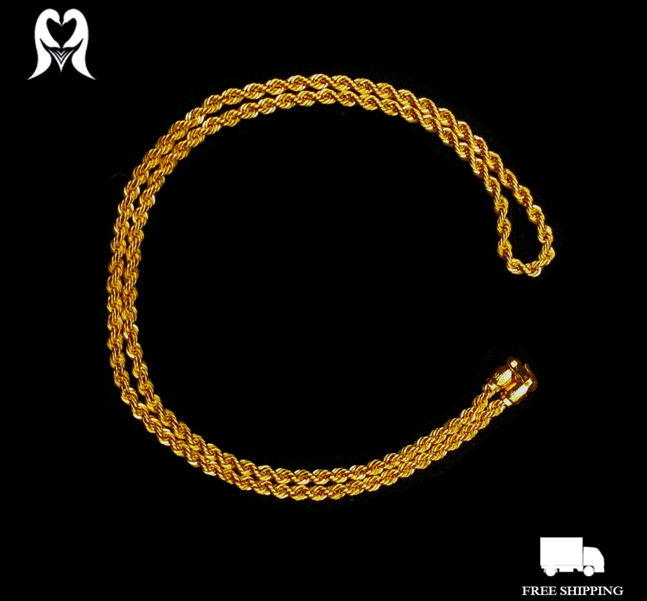 HOLLOW ROPE CHAIN [10.68g - 560221]